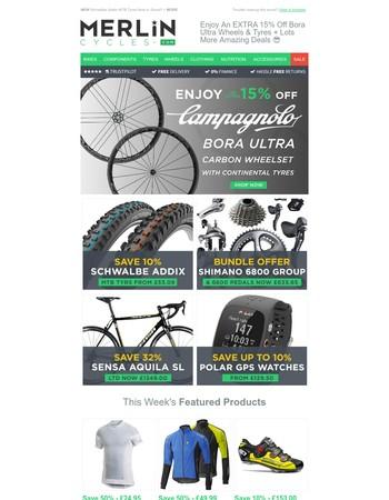 Enjoy An EXTRA 15% Off Bora Ultra Wheels & Tyres + Lots More Amazing Deals