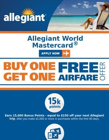 allegiant airlines coupons