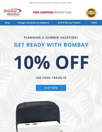 Travel Sale Starts Now!