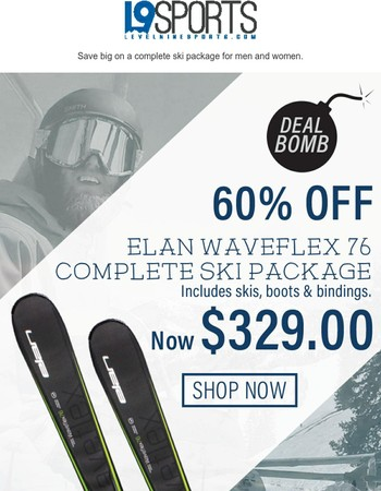 DEAL BOMB: Save 496 bucks!