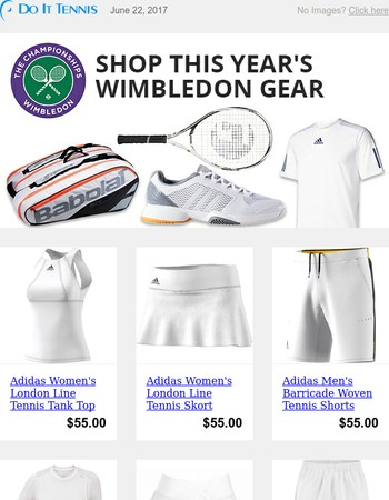Get Your Wimbledon Whites - Dress Like the Pros!