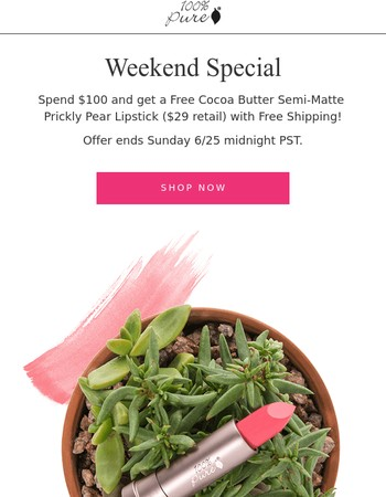 Hurry! Special offer ends Sunday