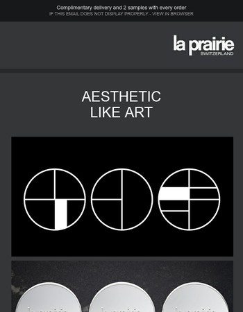 La Prairie and the world of art. An inextricable link.
