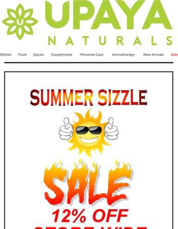 Upaya Naturals Newsletter