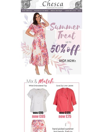 Summer Treats - Up to 50% off!