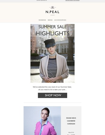 Summer Sale Highlights | Up To 30% Off