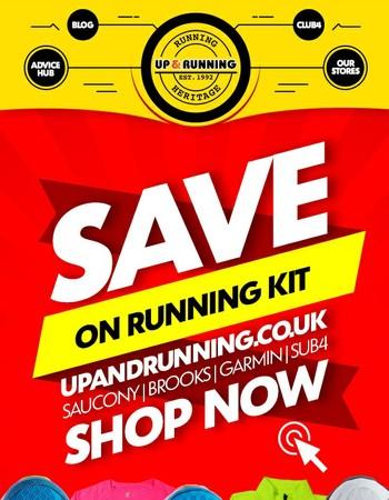 SAVE £££ on Running Kit