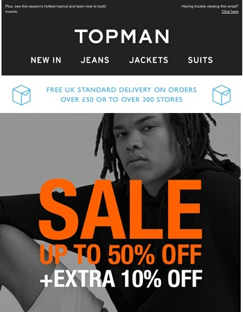Exclusive deal: Get an extra 10% off sale