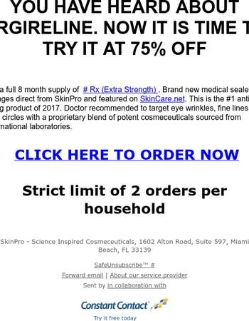 Final Opportunity For $25 Elite Serum