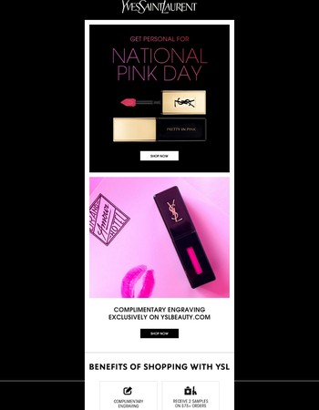 Personalize Your Pink - It's National Pink Day