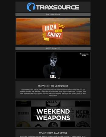 Traxsource LIVE! w/ Ezel | Weekend Weapons | Ibiza Buzz Chart +++