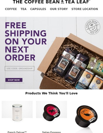 Free Shipping? Yes please!