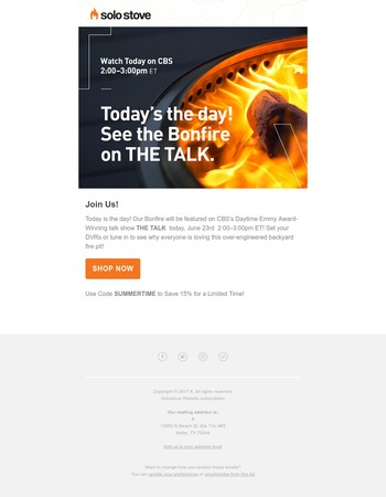 Solo Stove Newsletter