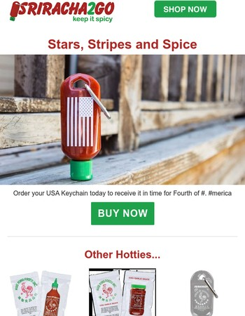 Stars, Stripes and Spice