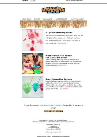 Stains | Beach | Booze