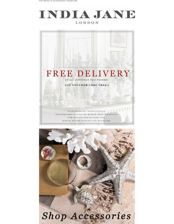 FREE DELIVERY this weekend!