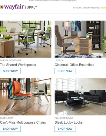 All-new savings: Shared workspaces