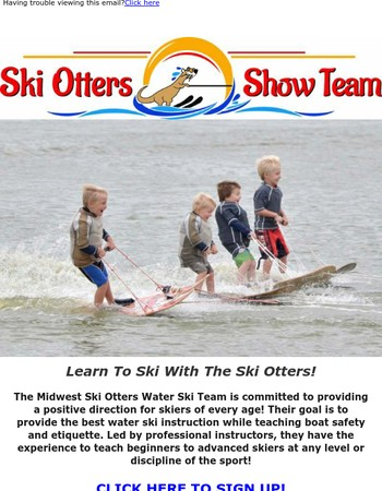 Learn To Ski With The Ski Otters!