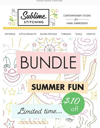 Save $10 with this Summer Fun Bundle!