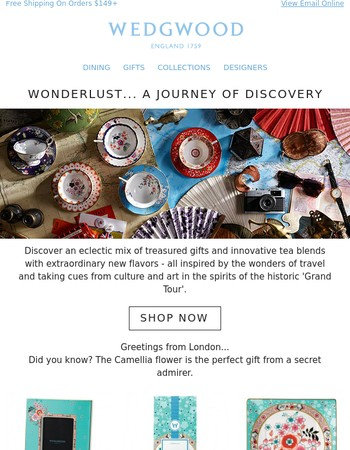 Wonderlust... A Journey Of Discovery