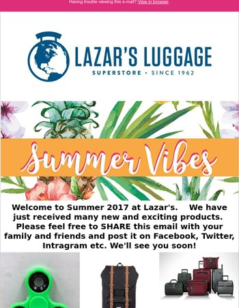 New Arrivals @ Lazar's for Summer '17