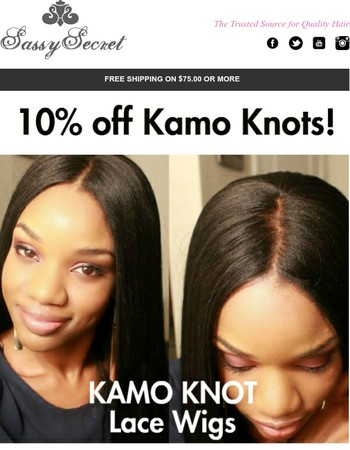 Kamo Knot Lace Wig-Most Natural on the Market