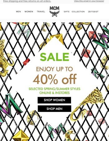 Don't Miss The Sale Up to 40% Off   Discover Our New Arrivals!