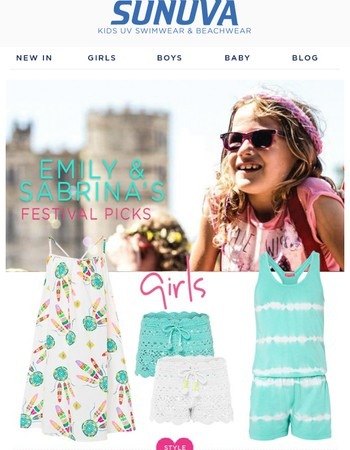 GET THE FESTIVAL LOOK!