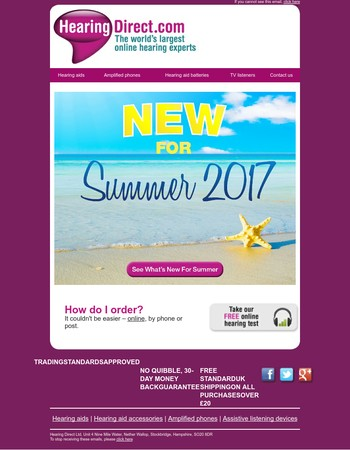 Come See What's New For Summer 2017...