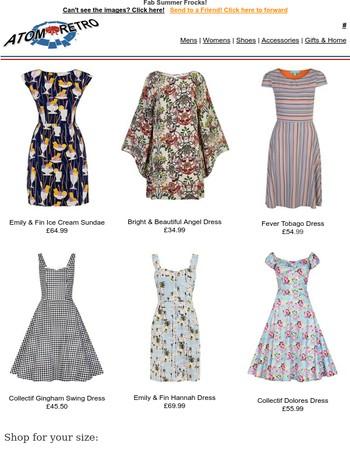Vintage & Retro Sun Dresses & Fab Frocks!