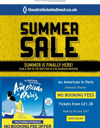 Summer Sale | Amazing Offers for Fantastic Shows