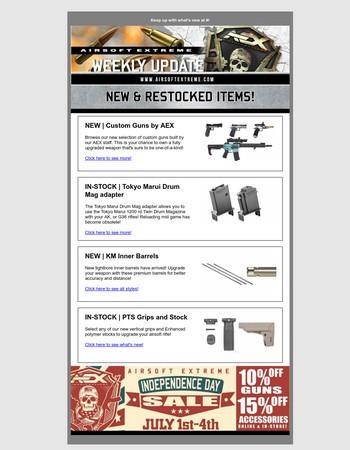 New Custom Guns from AEX!