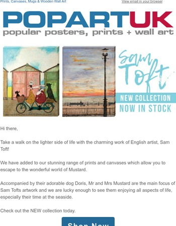 New Sam Toft Collection - Now In Stock!