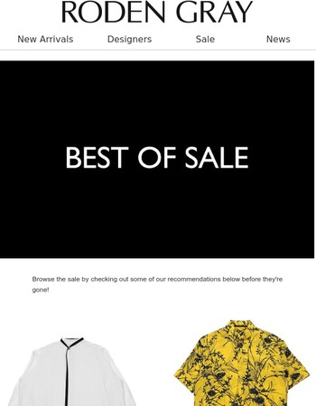 Shop our Best of Sale