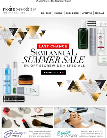 Summer Sale Reminder
