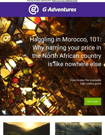 Haggling in Morocco 101