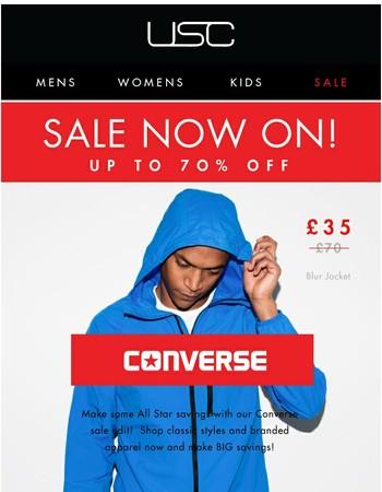 The Sunday Sale Edit! // MASSIVE savings on Converse!