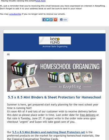 Mini Binders & Homeschool Organizing