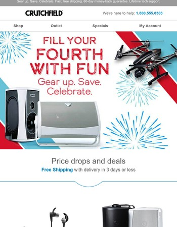 Fill your Fourth with fun - starting at $99