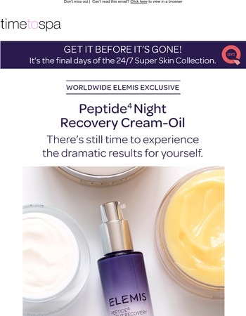 Get It Before It's Gone! Discover the ELEMIS 24/7 Super Skin Collection