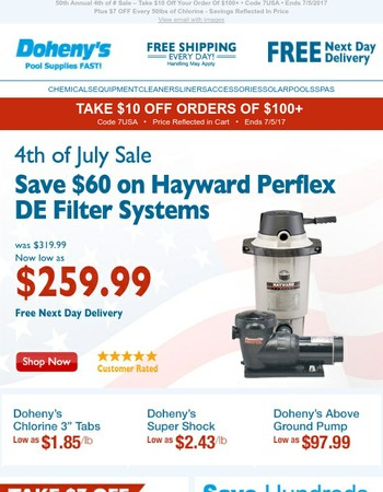 4th of July Sale - up to 36% OFF!