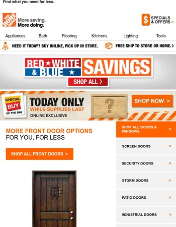 Shop all our front door options and more