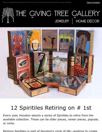 These 12 Spiritiles Will Retire July 1st
