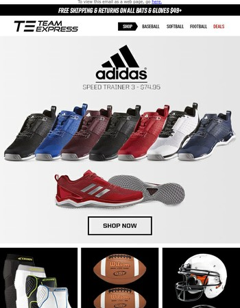 New Adidas Speed Trainer 3 Shoes - 9 Colors Available