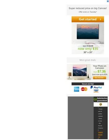 -73% on BIG landscape format