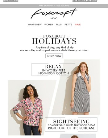 Pack Your Suitcase with Foxcroft