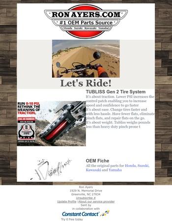TUBLISS Gen 2 Tire System