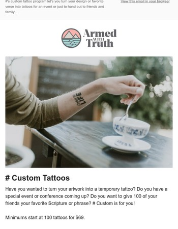 Design Your Own Tattoo✌
