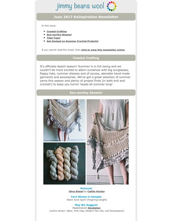 Coastal Crafting: Projects for Knitters AND Crocheters!