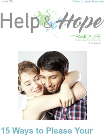 Help & Hope: 15 Ways to Please Your Husband